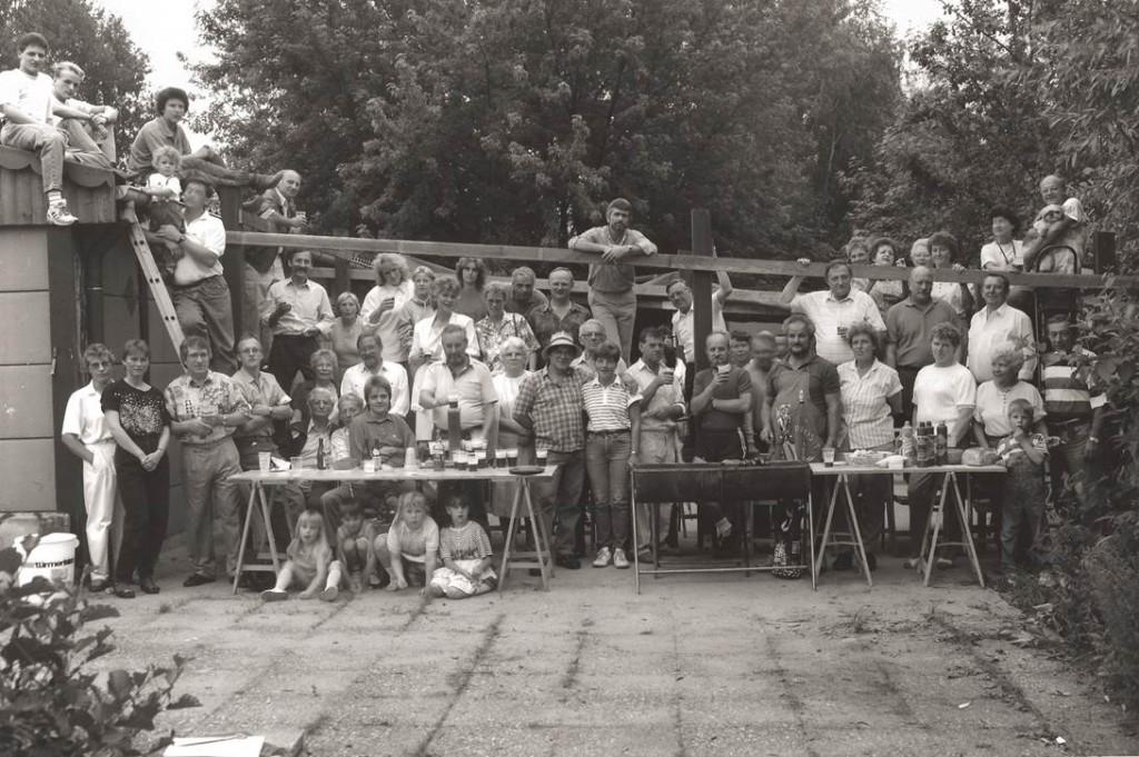 Richtfest-Vereinshausvordach-1988-Sternfotograf Cornelius Meffert copyright